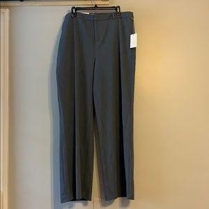 Heather Grey Wide Leg Trouser